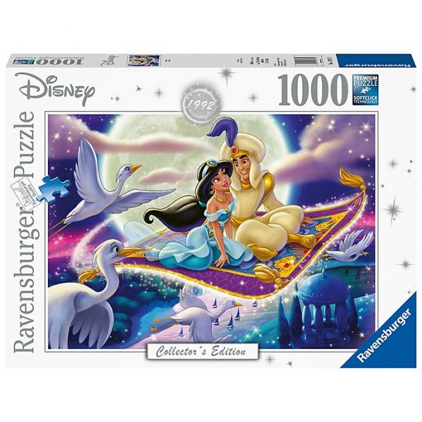 1000 piese puzzle, colectia Ravensburger Aladdin
