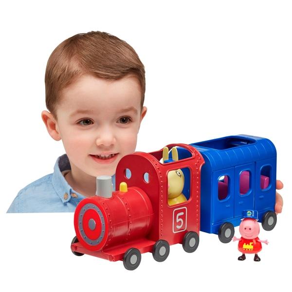 Trenul domnișoarei Rabbit Peppa Pig