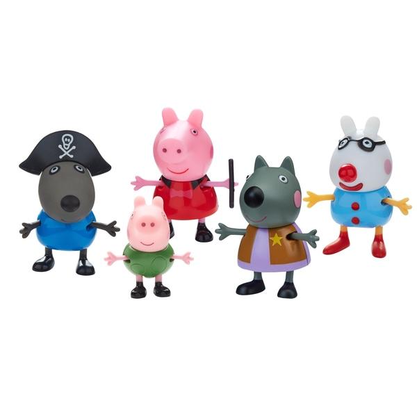 Figurine costumate Peppa Pig