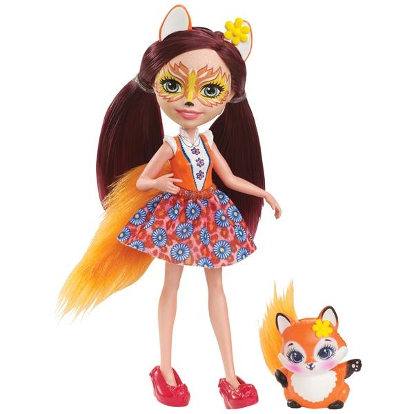 Păpușă Enchantimals Felicity vulpea