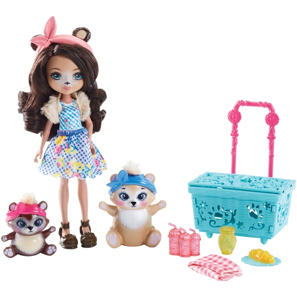 Set de jucării pentru picnic Enchantimals