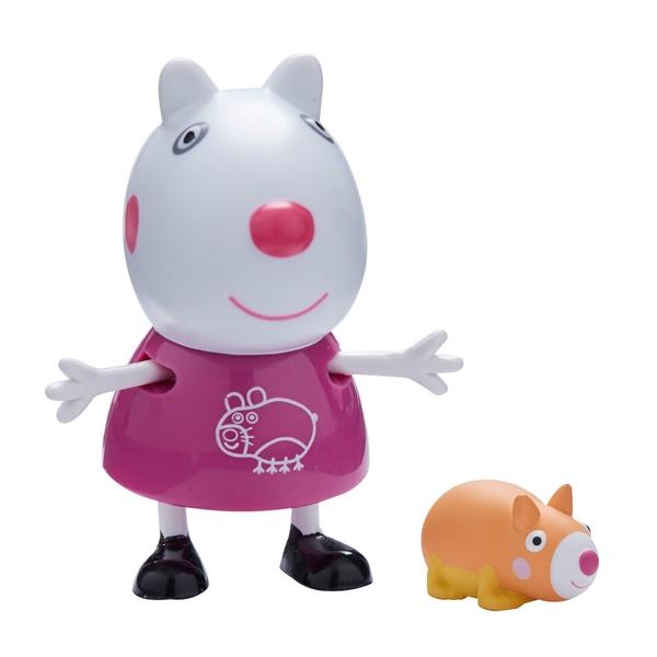 Figurina Peppa Pig cu animal de companie