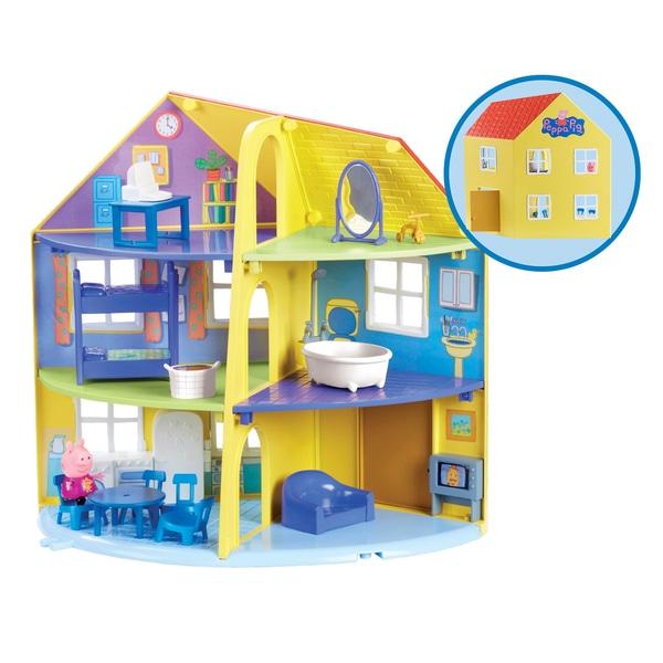 Casa familiei Peppa Pig