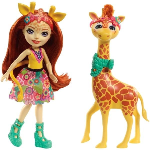 Papusa Enchantimals  girafa Gillian