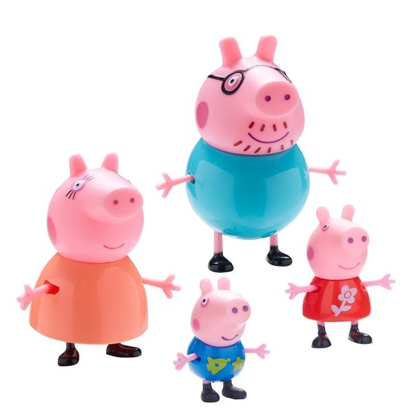 Familia Peppa Pig 4 buc