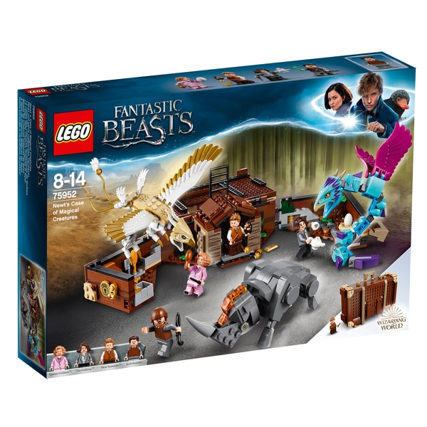 Jucarii Newt's Case creaturi magice LEGO 75952 Harry Potter