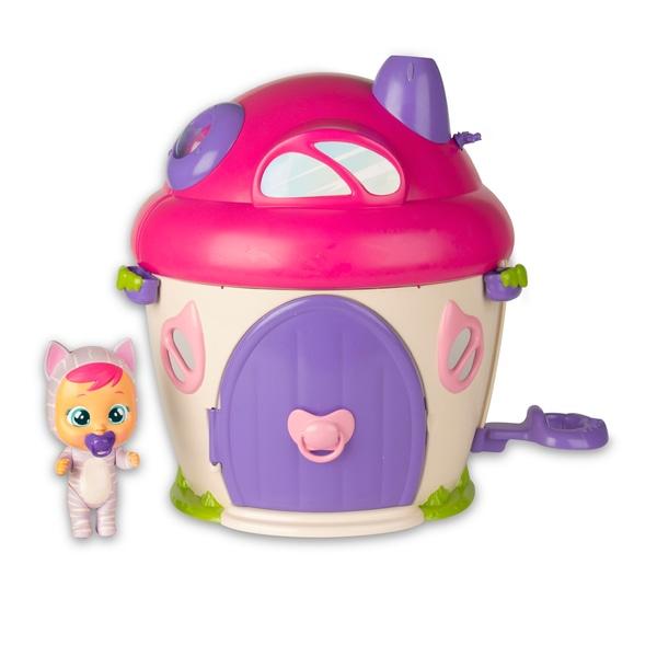 Set de jucarii Cry Babies Magic Tears - Casa superba a lui Katie