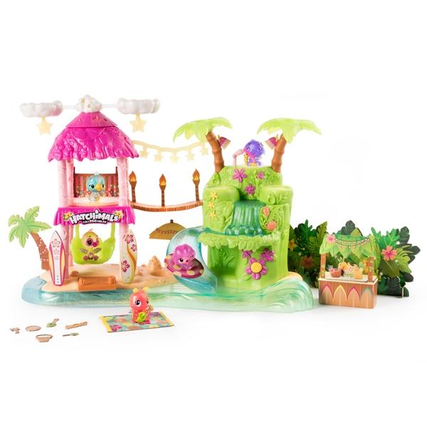 Set de petreceri tropicale - Hatchimals CollEGGtibles