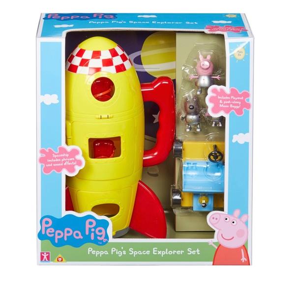 Set explorare spațială Peppa Pig
