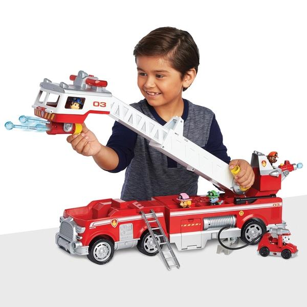 Camionul Pompierilor de Salvare Patrula Catelusilor