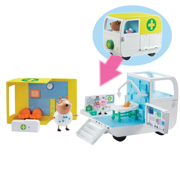 Centru medical mobil Peppa Pig