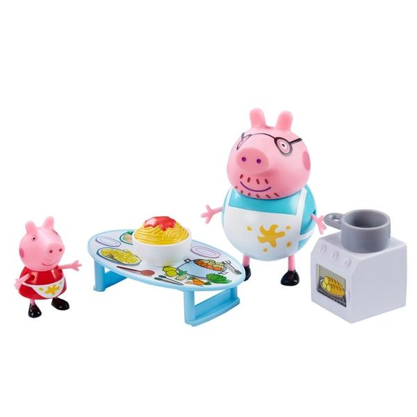 Set Bucătărie/cumparaturi Peppa Pig