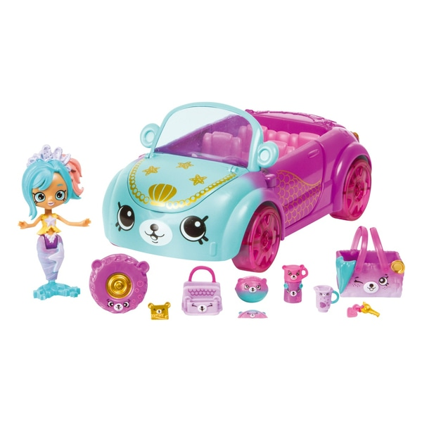 Shopkins Happy Places - coada Sirena masina de croaziera