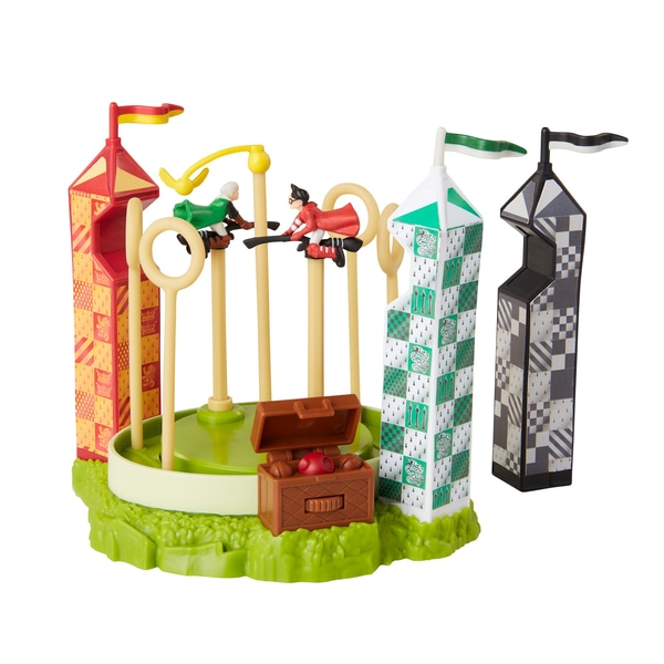 Set de jucarii Quidditch Pitch din colectia Harry Potter