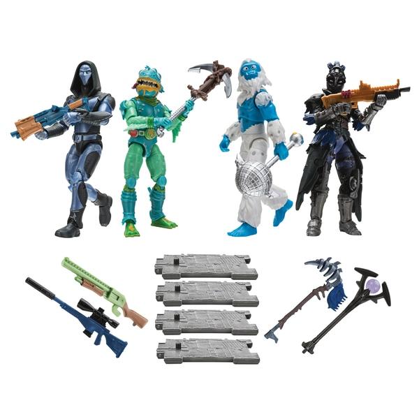Figurine Fortnite 4 Pack Squad Mode