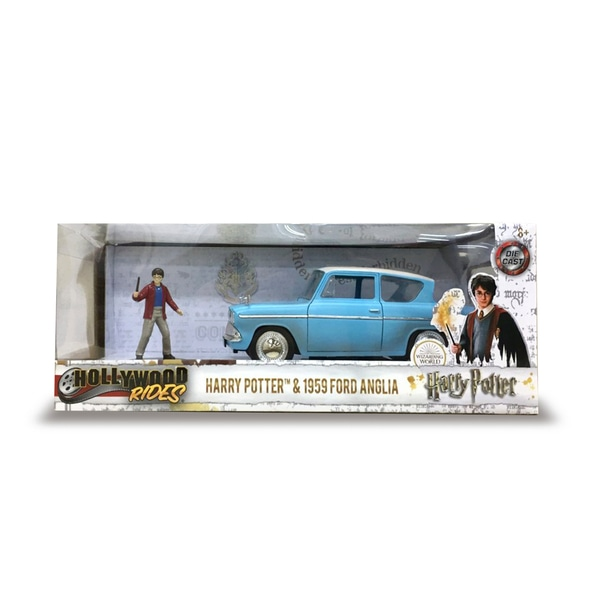 Figurina Harry Potter si masina Ford 1959