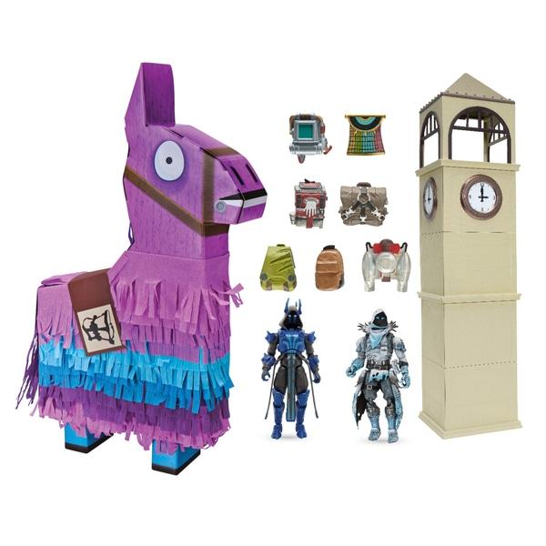 Set figurine Fortnite Jumbo Llama Loot Piñata