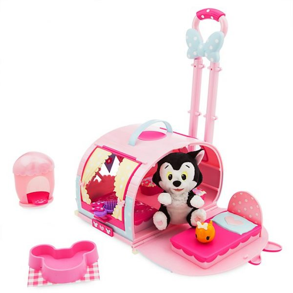 Troler Minnie Mouse si Figaro