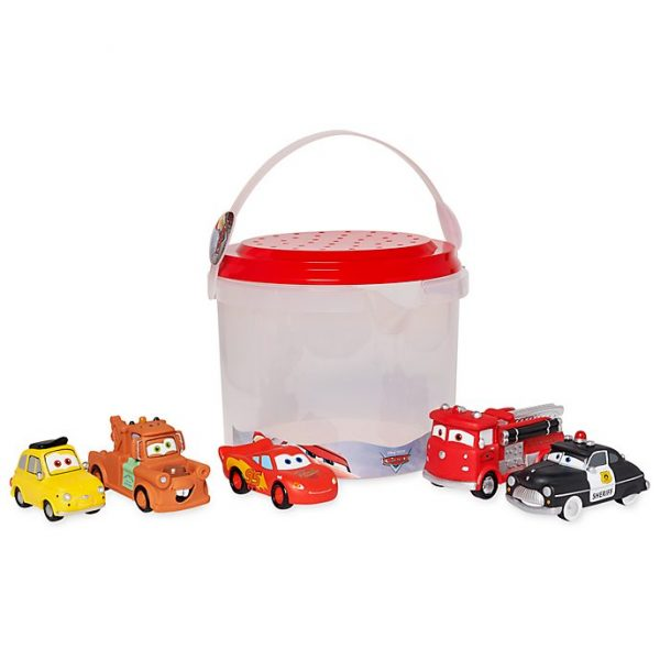 Set jucării de baie Cars