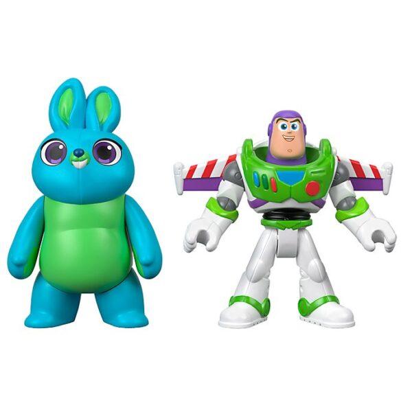 Figurina Buzz Lightyear si Bunny - Povestea Jucariilor 4