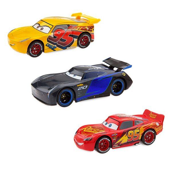 Set 3 masinute Jackson Storm, Lightning McQueen si Cruz Ramirez