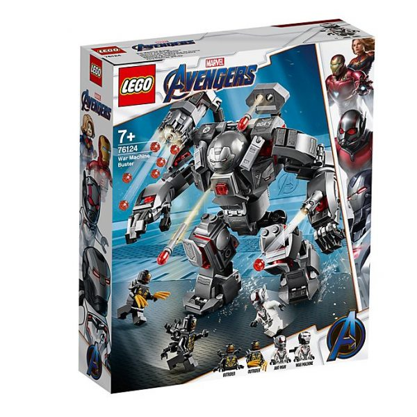 Lego War Machine 76124