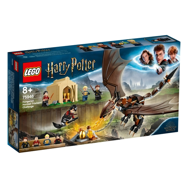 maghiarul  Horntail Triwizard Challenge LEGO 75946 Harry Potter