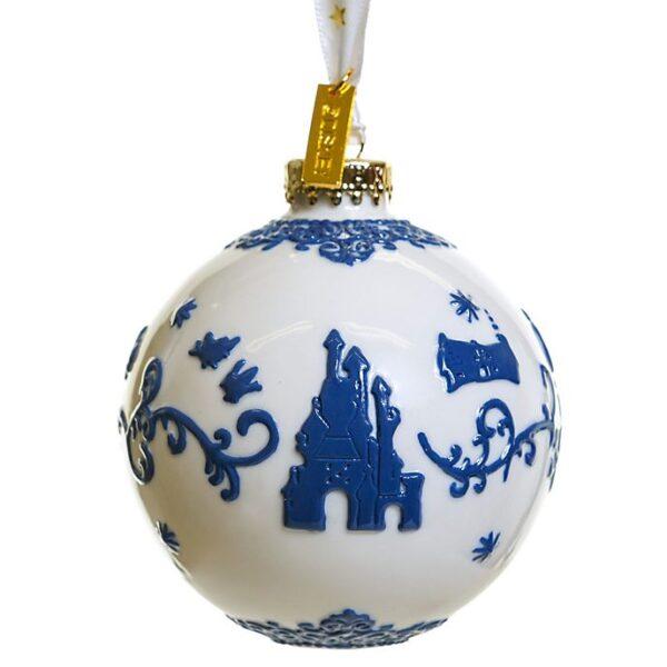 Ornament de craciun Alba ca Zapada