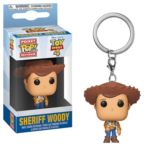 Breloc de chei Funko Sheriff Woody, Povestea Jucariilor