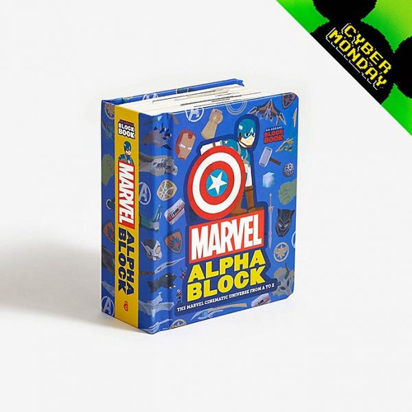 Cartea Marvel Alphablock