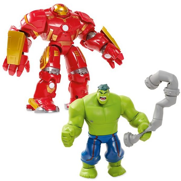 Set figurine ToyBox Hulkbuster și Hulk Battle
