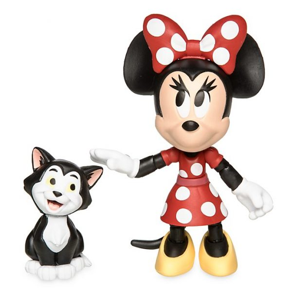 Figurine Minnie Mouse si Figaro - Toybox