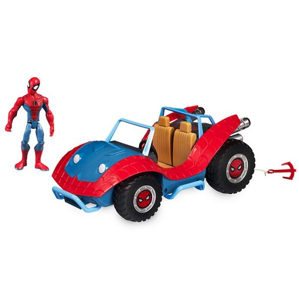 Figurina Spider-Man si Spider-Mobile