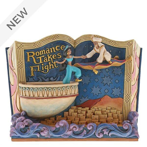 Figurine Aladdin si Printesa Jasmine din Cartea de Povesti