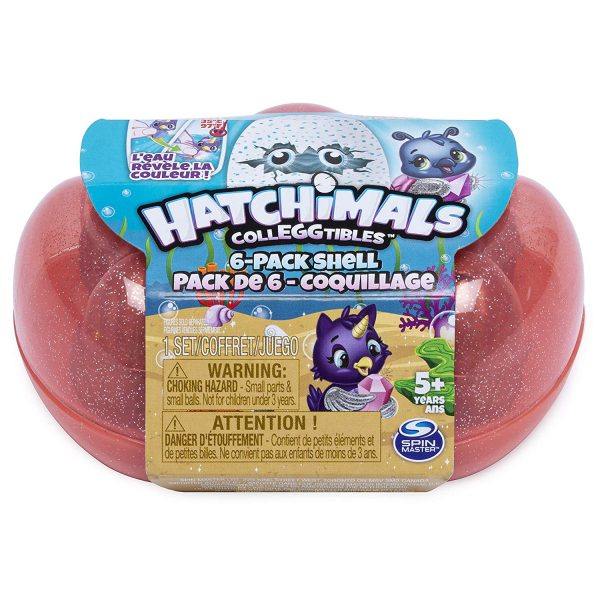 Pachet 6 scoici  Hatchimals sez 5 Mermal Magic