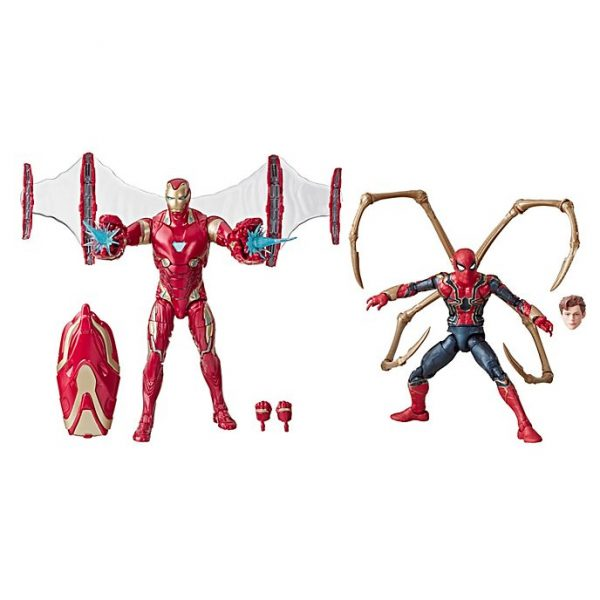 Set figurine  Iron Man si Iron Spider Legends 6