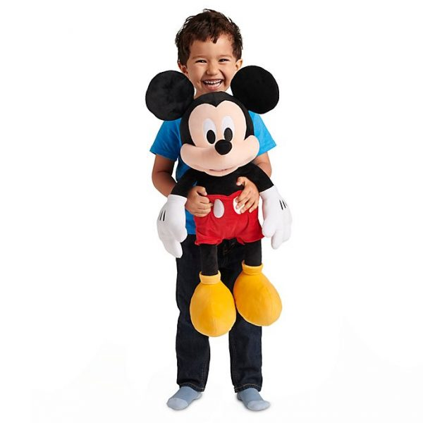 Jucărie moale mare Mickey Mouse