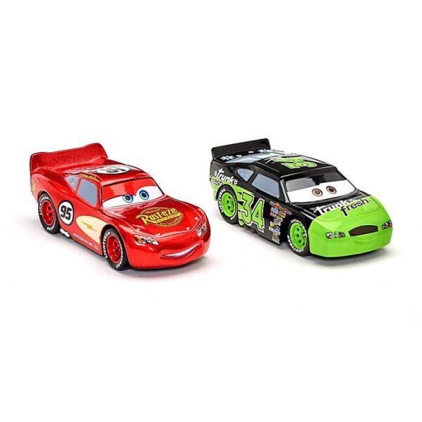 Set 2 masinute Lightning McQueen și Dirkson D'Agogstino Die-Cast