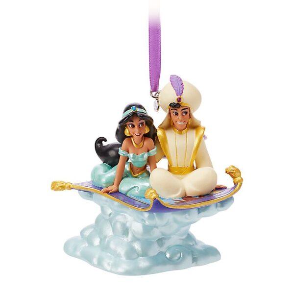 Ornament de Craciun Aladdin si Jasmine