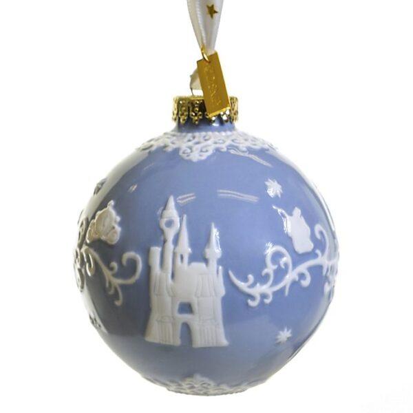 Ornament albastru de craciun Cenusareasa