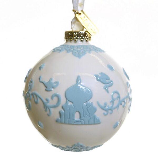 Ornament de craciun alb Aladdin