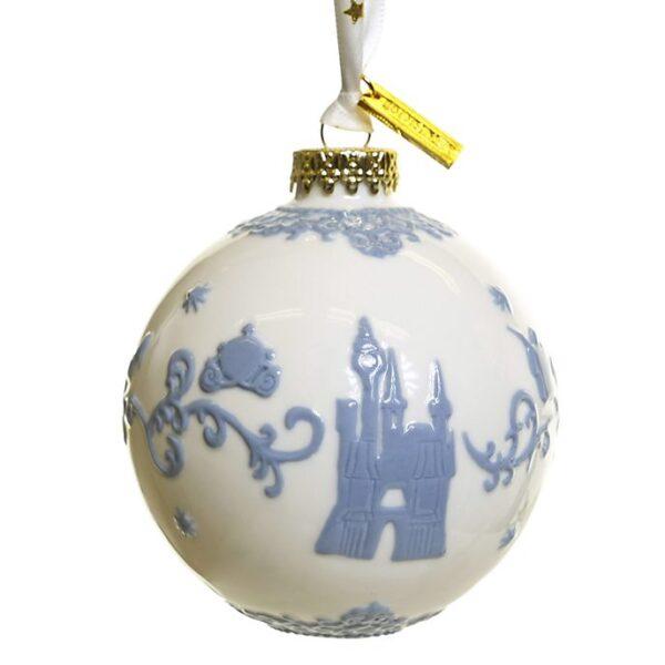 Ornament alb de craciun Cenusareasa
