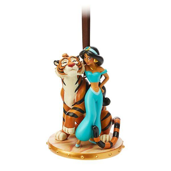 Ornament  Prințesa Jasmine si  Rajah