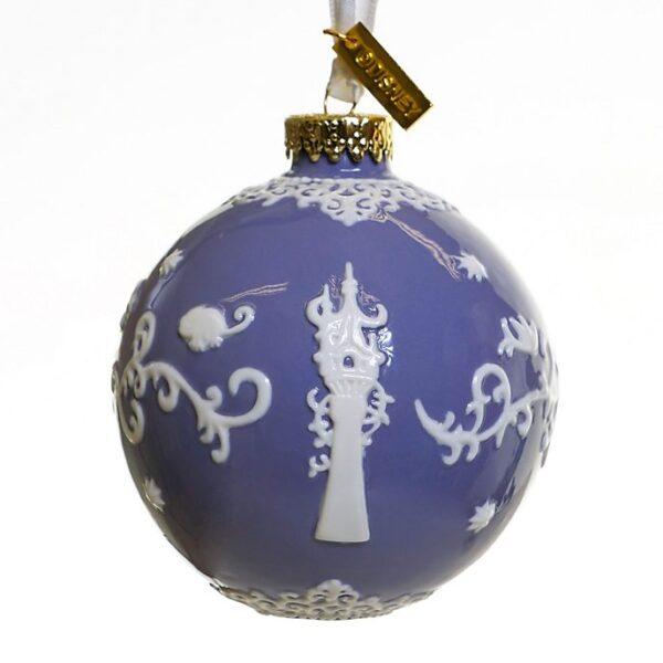 Ornament de craciun violet
