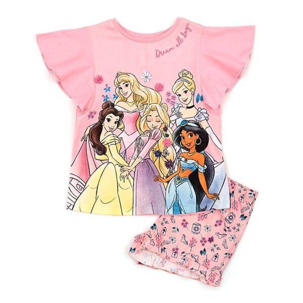 Pijamale pentru copii Printesele Disney