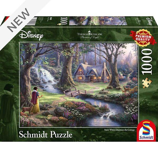 1000 piese puzzle,Thomas Kinkade, Alba ca Zapada