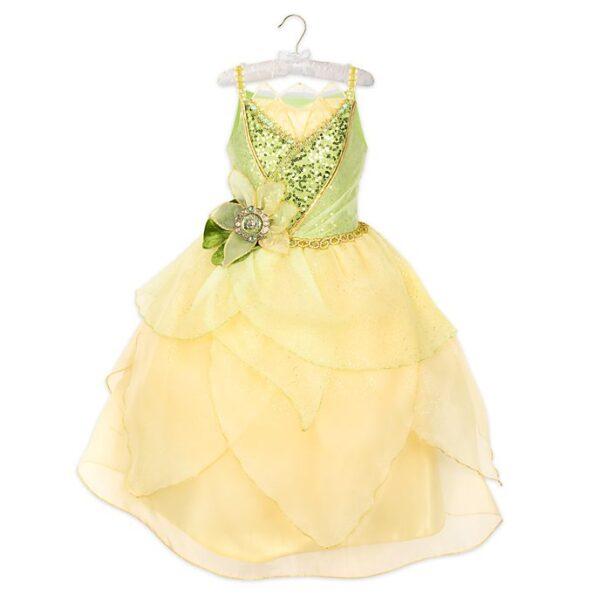 Rochie pentru fetite Printesa Tiana  si broasca