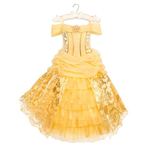 Rochie / Costum Deluxe Belle - Beauty And The Beast