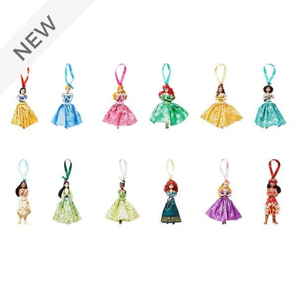 Set de 12 ornamente cu printesele Disney