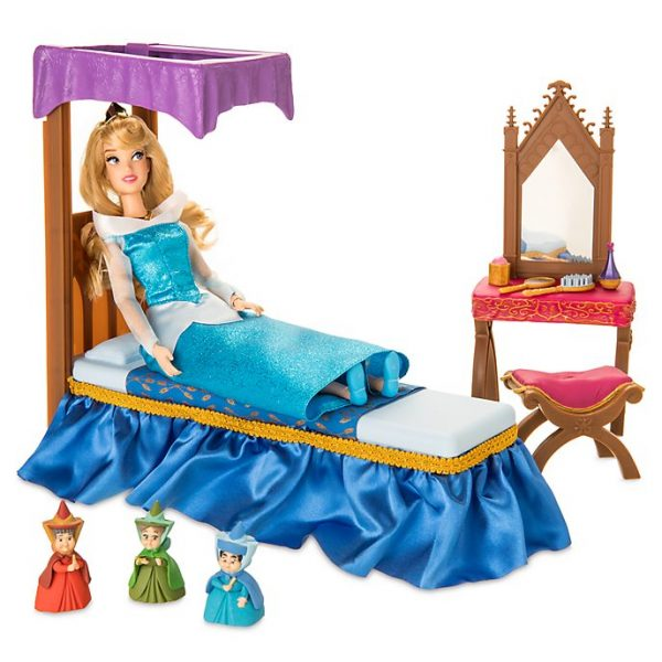 Set de jucarii - dormitorul Printesei Aurora